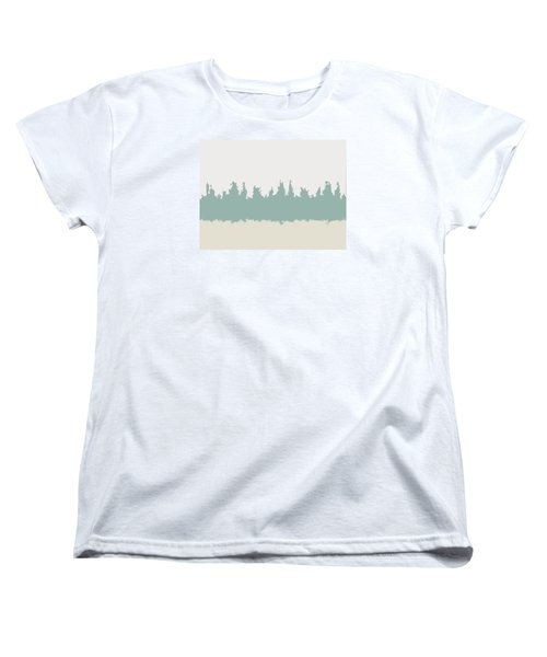 Women's T-Shirt (Standard Cut) featuring the digital art Above And Below by Jeff Iverson