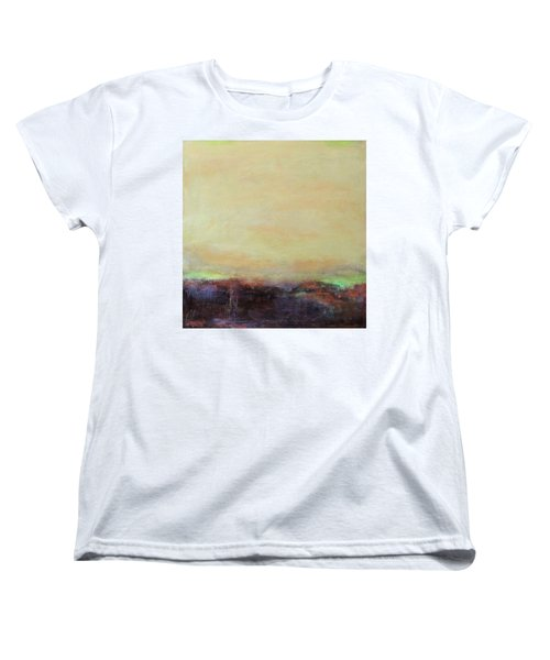 Abstract Landscape - Rose Hills Women's T-Shirt (Standard Cut) by Kathleen Grace