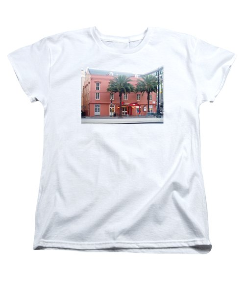 Women's T-Shirt (Standard Cut) featuring the photograph Arby's At Dawn by Alys Caviness-Gober