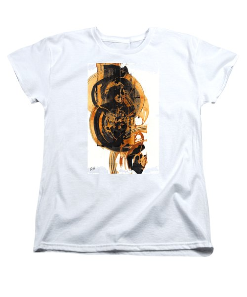 Women's T-Shirt (Standard Cut) featuring the painting Austere's Moment O Glory 113.122210 by Kris Haas