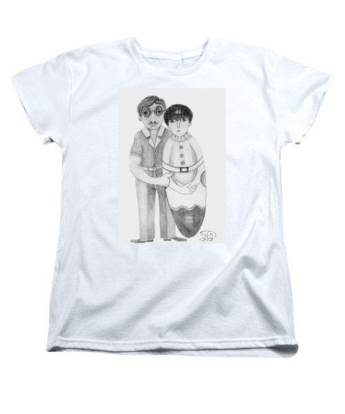 Babushka Women's T-Shirt (Standard Cut) by Rachel Hershkovitz