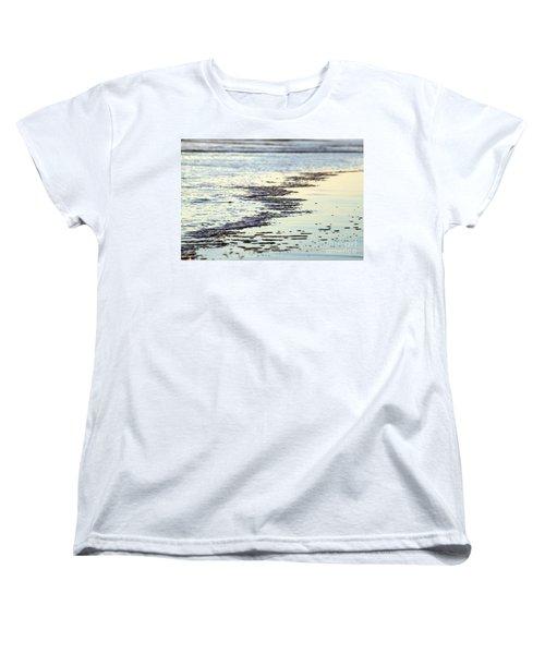 Beach Water Women's T-Shirt (Standard Cut) by Henrik Lehnerer