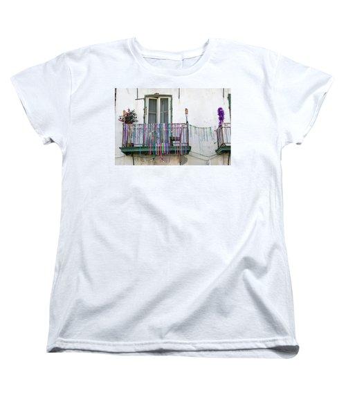 Bead The Porch Women's T-Shirt (Standard Cut) by KG Thienemann