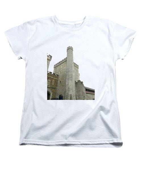 Black Tower Women's T-Shirt (Standard Cut) by Ian Kowalski