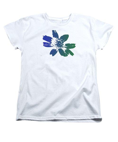 Women's T-Shirt (Standard Cut) featuring the photograph Blue In Bloom by Lauren Radke