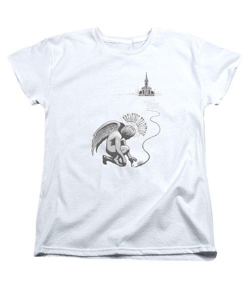 Breaking Tradition Women's T-Shirt (Standard Cut) by Tony Koehl