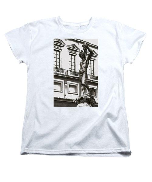 Women's T-Shirt (Standard Cut) featuring the photograph Bronze Icon by Eric Tressler