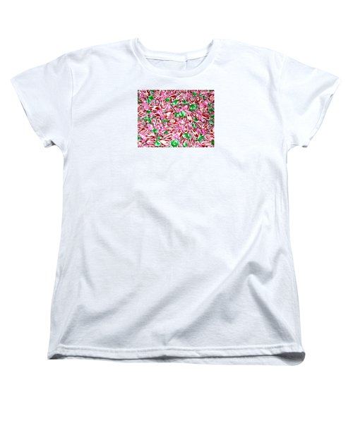 Women's T-Shirt (Standard Cut) featuring the photograph Candy Is Dandy by Beth Saffer