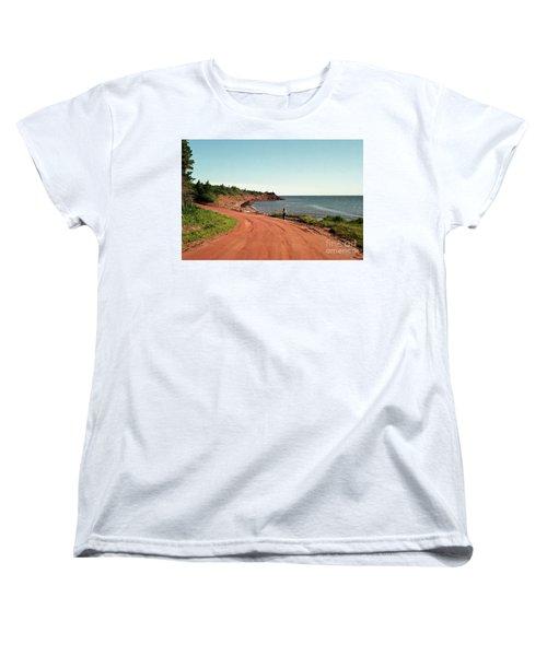 Contemplation Women's T-Shirt (Standard Cut) by Kathy McClure