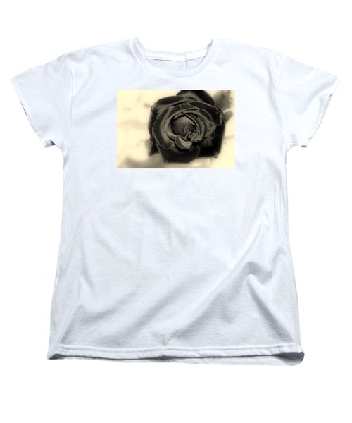 Women's T-Shirt (Standard Cut) featuring the photograph Dark Beauty by Kay Novy