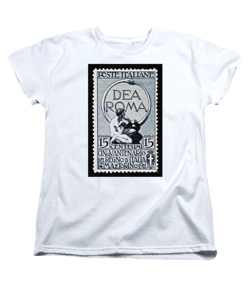 Women's T-Shirt (Standard Cut) featuring the photograph Dea Roma by Andy Prendy