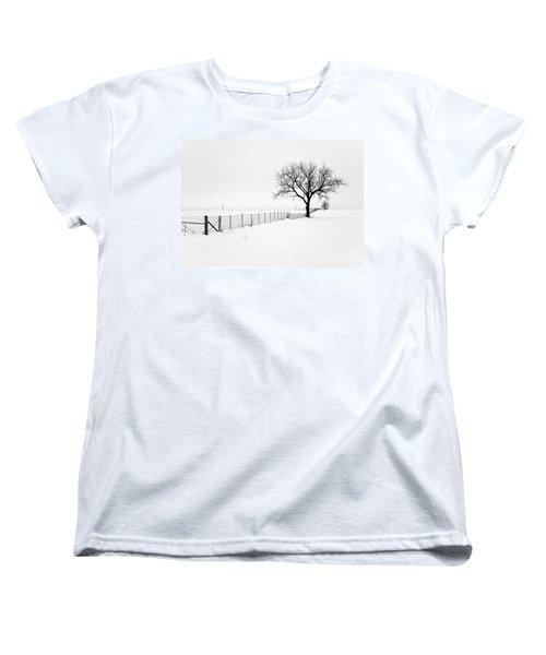 December Women's T-Shirt (Standard Cut) by Sue Stefanowicz