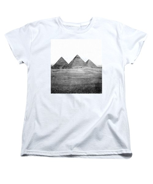 Egyptian Pyramids - C 1901 Women's T-Shirt (Standard Cut) by International  Images