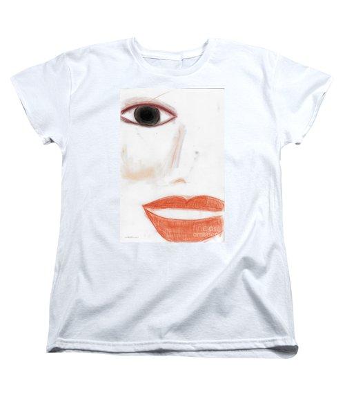 Face Women's T-Shirt (Standard Cut) by Vicki Ferrari