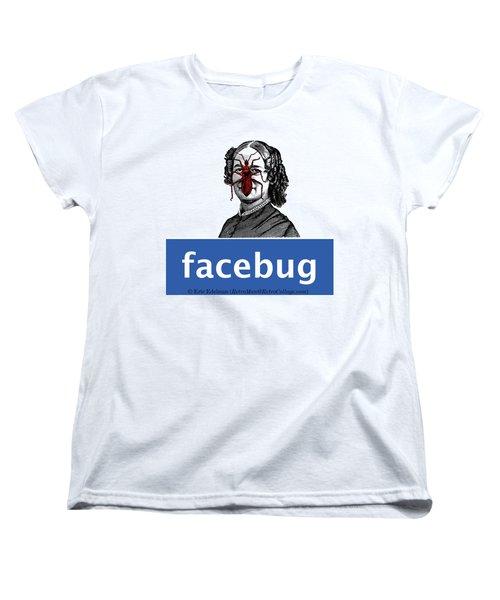 Facebug For Women Women's T-Shirt (Standard Cut)