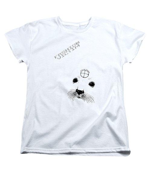 Fashion Victim Women's T-Shirt (Standard Cut) by Tony Koehl