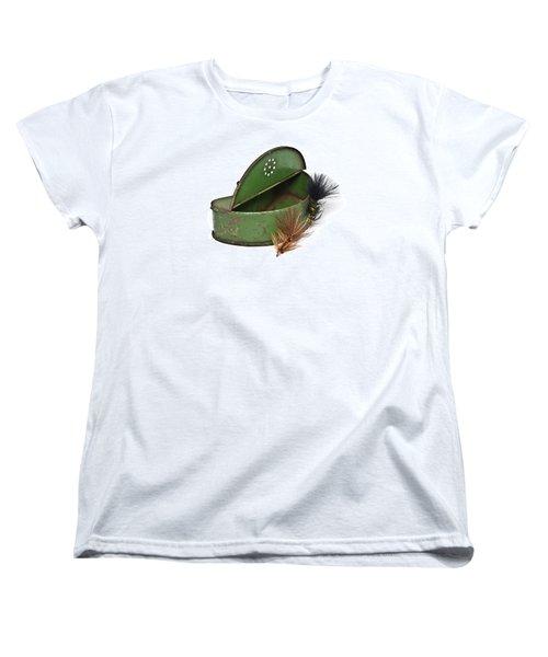 Fishing Lures Women's T-Shirt (Standard Cut) by Susan Leggett