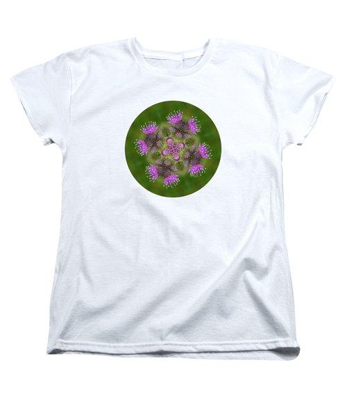 Women's T-Shirt (Standard Cut) featuring the photograph Flower Of Scotland by Lynn Bolt