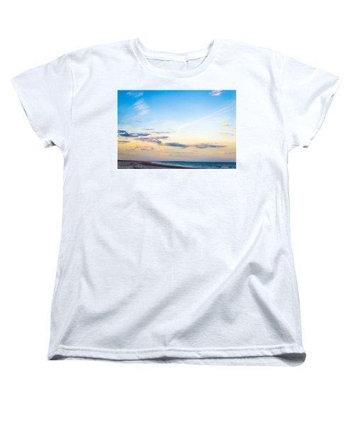 Women's T-Shirt (Standard Cut) featuring the photograph Forte Clinch Pier by Shannon Harrington