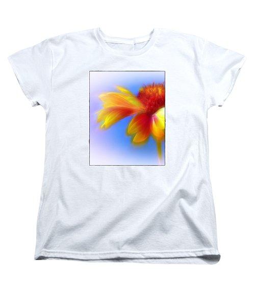 Fresh As A Daisy Women's T-Shirt (Standard Cut) by Judi Bagwell