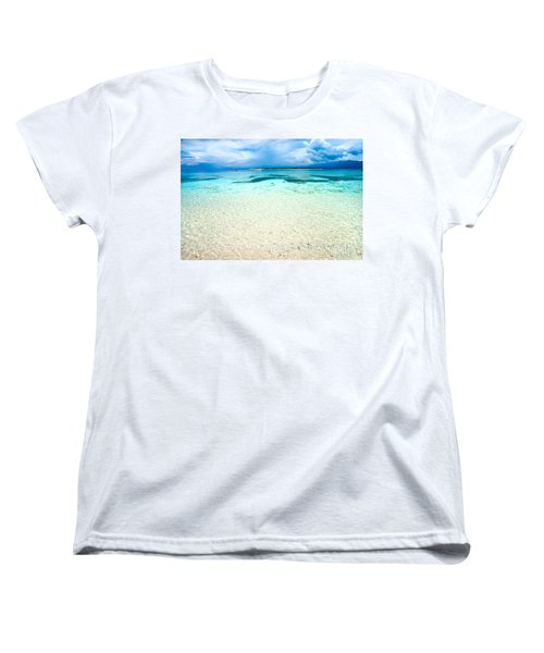 Women's T-Shirt (Standard Cut) featuring the photograph Gili Meno - Indonesia. by Luciano Mortula
