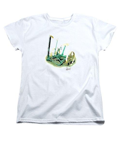 Hay Cutter Women's T-Shirt (Standard Cut) by Ferrel Cordle