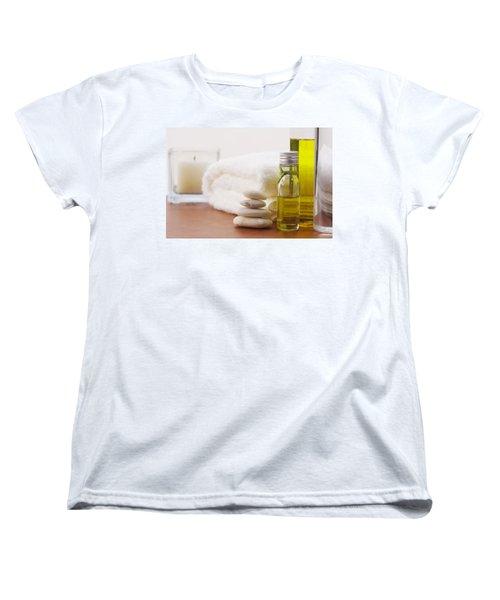 Health Spa Women's T-Shirt (Standard Cut) by Atiketta Sangasaeng