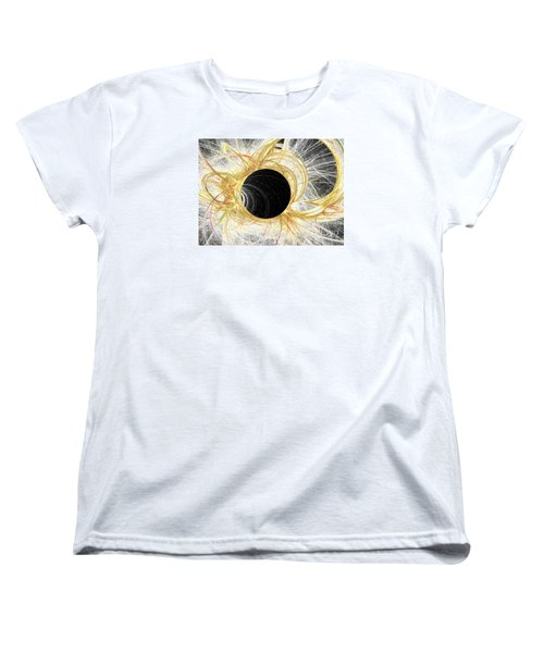 Women's T-Shirt (Standard Cut) featuring the digital art Horizon by Kim Sy Ok