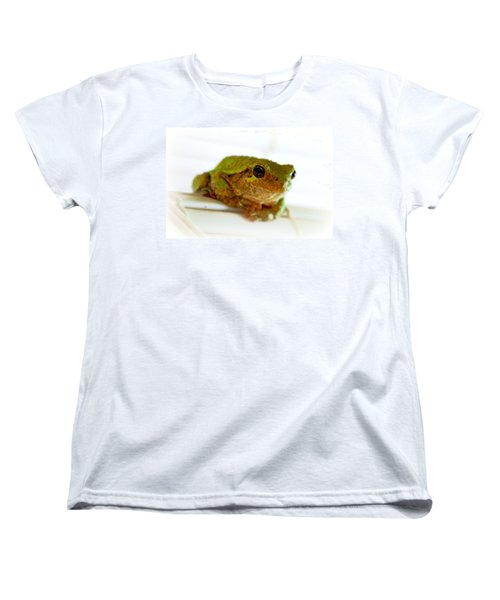 Women's T-Shirt (Standard Cut) featuring the photograph Im Watching You by Peggy Franz