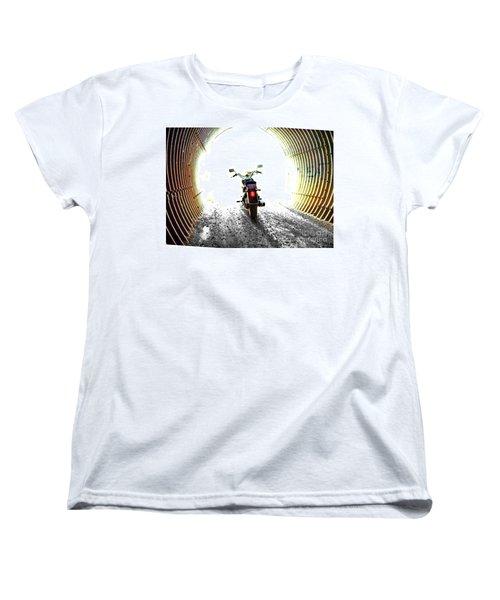 Women's T-Shirt (Standard Cut) featuring the photograph Into The Light by Blair Stuart