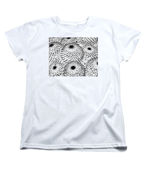 Women's T-Shirt (Standard Cut) featuring the photograph Invisible Cactus by Rebecca Margraf