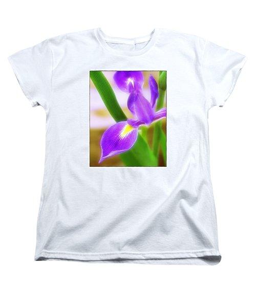 Iris On Pointe Women's T-Shirt (Standard Cut) by Judi Bagwell
