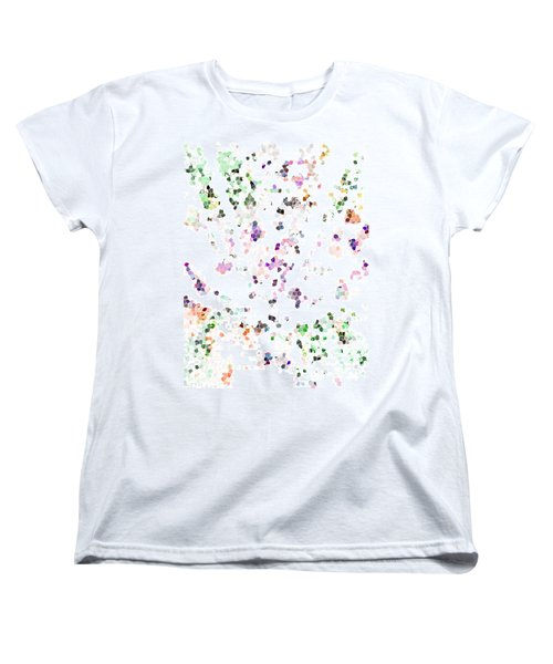 Women's T-Shirt (Standard Cut) featuring the digital art It's A Mad World  by Steve Taylor