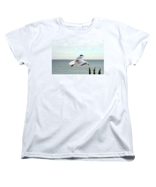 Women's T-Shirt (Standard Cut) featuring the photograph Looking For Dinner by Clayton Bruster