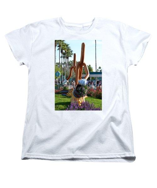 Magic Mop Women's T-Shirt (Standard Cut) by Bonnie Myszka