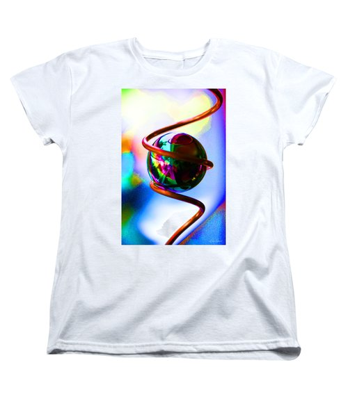 Magical Sphere Women's T-Shirt (Standard Cut) by Diana Haronis