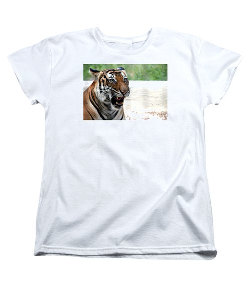 Women's T-Shirt (Standard Cut) featuring the photograph Make My Day by Kathy  White