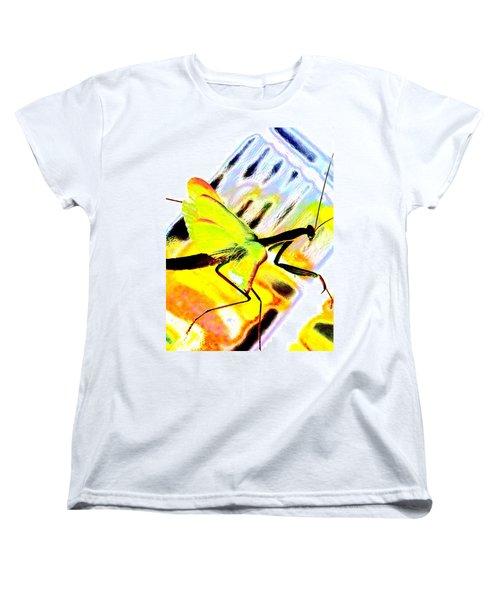 Women's T-Shirt (Standard Cut) featuring the photograph Mantis by Xn Tyler