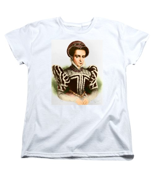 Mary I, Queen Of England And Ireland Women's T-Shirt (Standard Cut) by Omikron