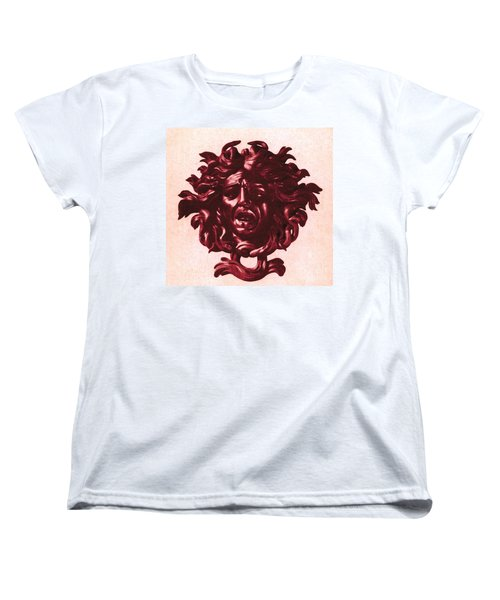 Medusa Head Women's T-Shirt (Standard Cut) by Photo Researchers