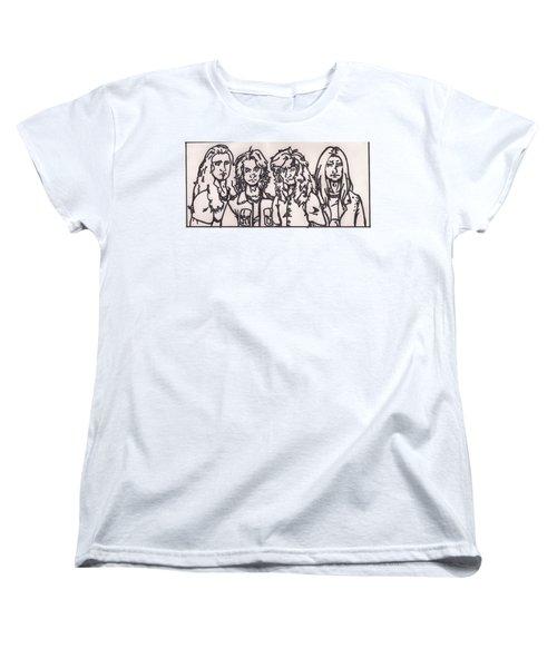 Megadeth Women's T-Shirt (Standard Cut) by Jeremiah Colley