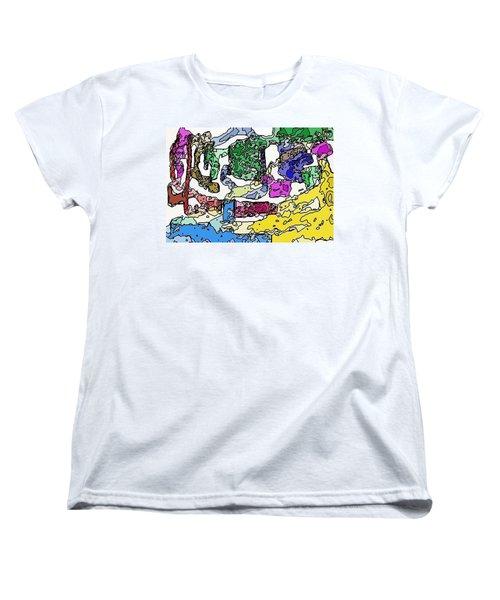Melting Troubles Women's T-Shirt (Standard Cut) by Alec Drake