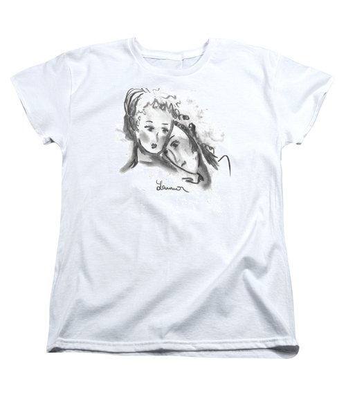 Mother Daughter Women's T-Shirt (Standard Cut) by Laurie L