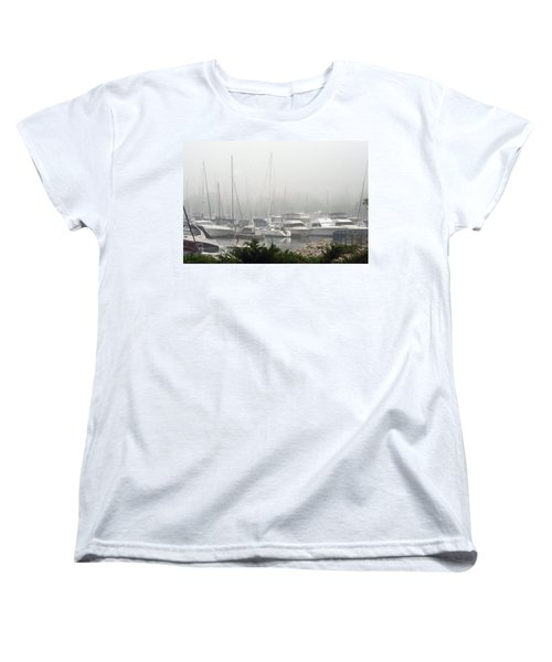 Women's T-Shirt (Standard Cut) featuring the photograph No Sailing Today by Kay Novy