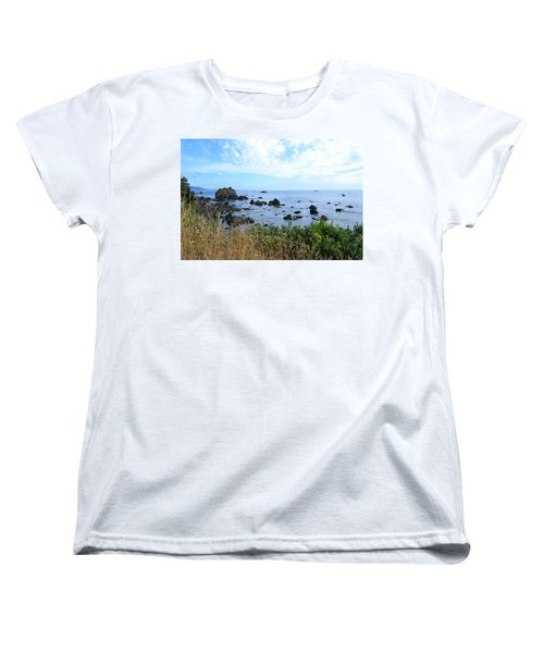 Northern California Coast2 Women's T-Shirt (Standard Cut) by Zawhaus Photography