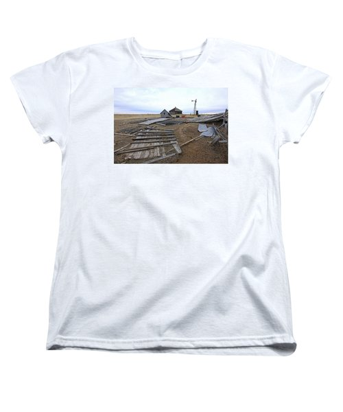 Once There Was A Farm Women's T-Shirt (Standard Cut) by James Steele