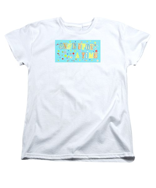 Women's T-Shirt (Standard Cut) featuring the painting Once Upon A Time by Beth Saffer