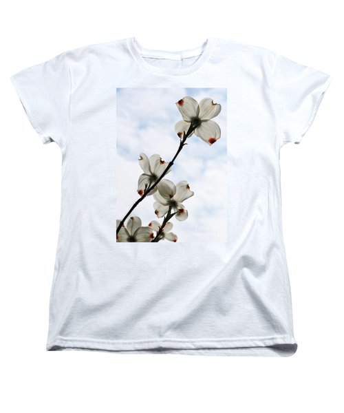 Women's T-Shirt (Standard Cut) featuring the photograph Only Once A Year by Barbara McMahon