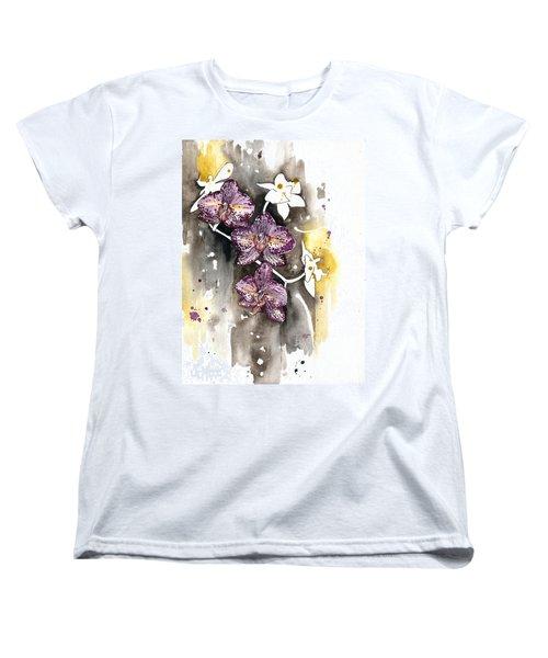 Orchid 13 Elena Yakubovich Women's T-Shirt (Standard Cut) by Elena Yakubovich