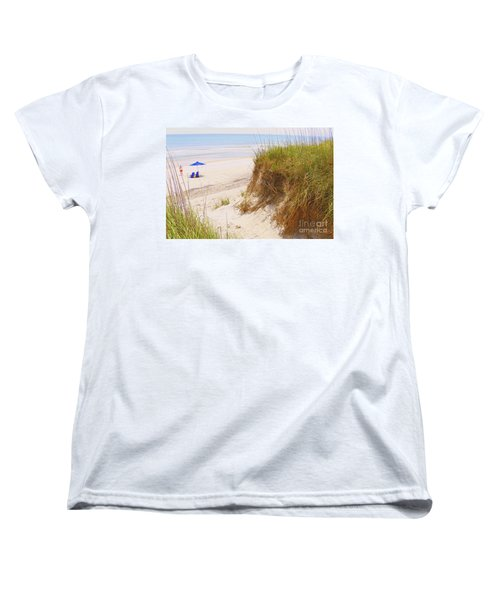 Women's T-Shirt (Standard Cut) featuring the photograph Outerbanks by Lydia Holly